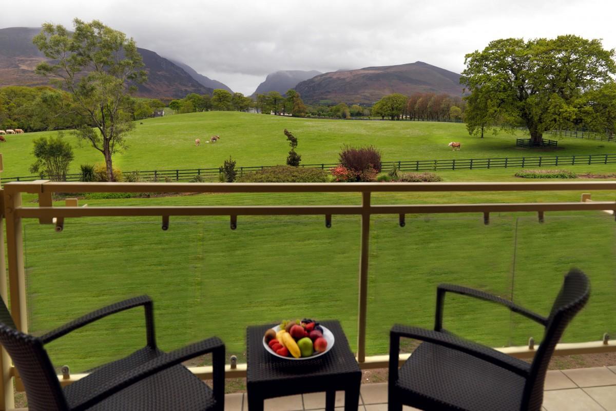 The Dunloe Hotel, Killarney family bedroom. Photo: Don MacMonagle  e: info@macmonagle.com