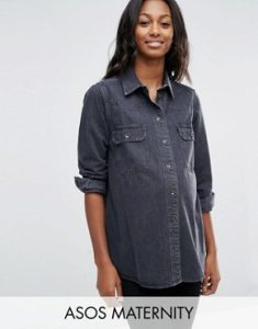 ASOS-MATERNITY-Boyfriend-Shirt-in-Wanda-Washed-Black-Washed-black1