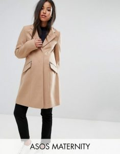 ASOS-MATERNITY-Slim-Boyfriend-Coat-with-Zip-Pocket-Camel-555x708
